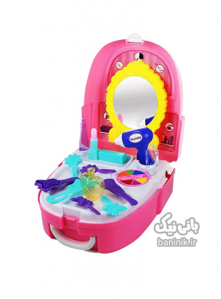 ست کوله پشتی زیبایی دخترانه پرنسس ,اسباب بازی ارایشی , اسباب بازی زیبایی, دخترانه , اسباب بازی ارایشی چی بخرم ؟کوله ارایشی بازی