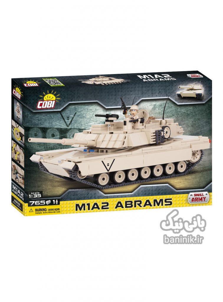 تانک کوبی ،خرید تانک M1a2،لگو،خرید اسباب بازی درمشهد،تانک کوبی،،لگو پسرانه،لگو کوبی, ساختنی, کوبی, لگوتانک Cobi M1A2 Abrams