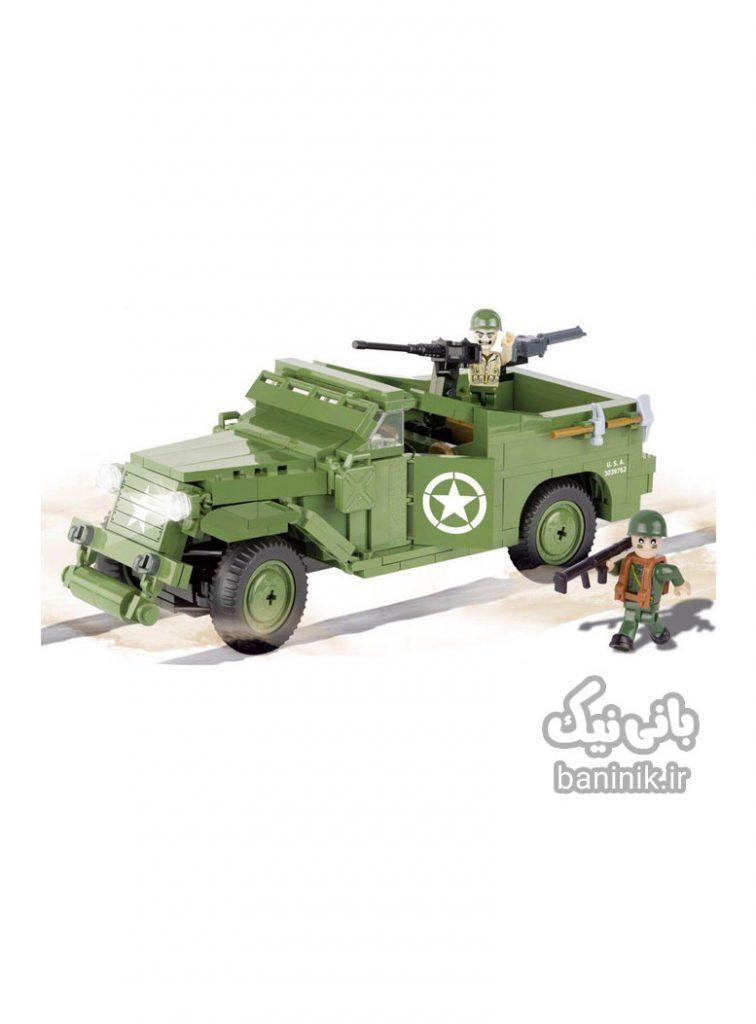 ساختنی کوبی سری ماشین ارتشی Cobi M3 Scout Car ،خرید ماشین ،لگو،خرید اسباب بازی درمشهد،ماشین کوبی،لگو پسرانه،لگو کوبی, ساختنی, کوبی,