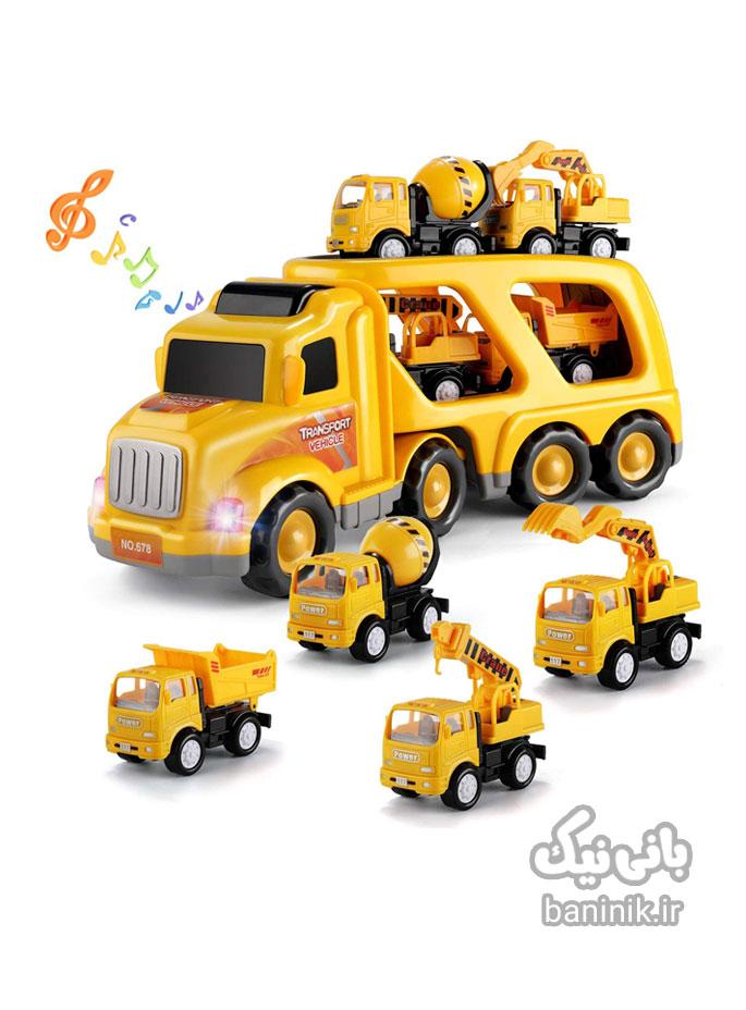 ماشین حمل ، ماشین اسباب بازی،اسباب بازی ، ست ماشین ،اسباب بازی پسرانه ، کادو پسرانه ،خرید اسباب بازی، خرید ماشین اسباب بازی در مشهد